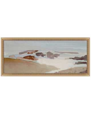 BEACH ABSTRACT Framed Art - Large - McGee & Co.