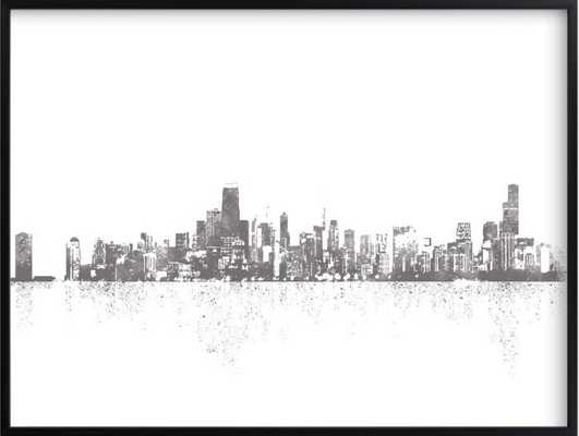 chicago skyline - Minted