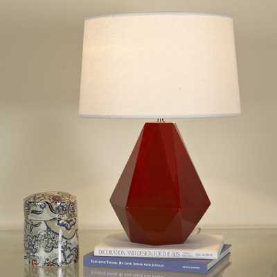 SIZZLING COLORS GEOMETRIC CERAMIC TABLE LAMP - Shades of Light