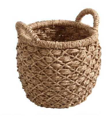 Small Natural Hyacinth Evelyn Tote Basket by World Market - World Market/Cost Plus