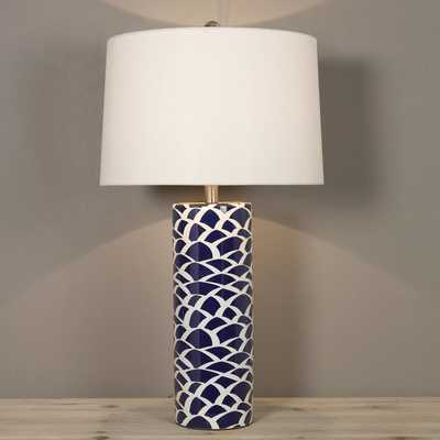 BLUE SCALE TABLE LAMP - Shades of Light