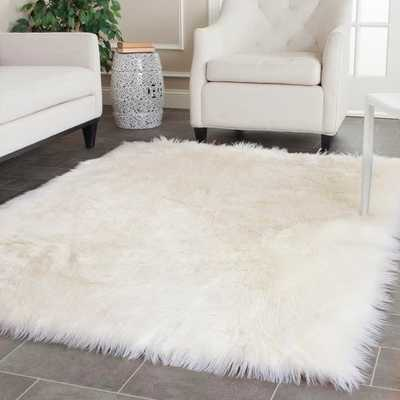 Haven Faux Solid Area Rug - Target