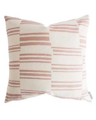"BEVERLY PILLOW WITHOUT INSERT, 22"" x 22"" - McGee & Co."