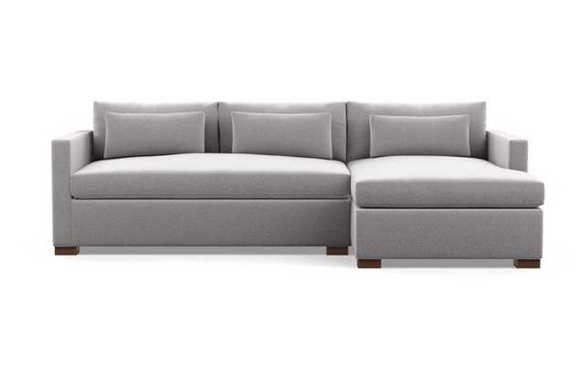 Charly Sectional with Right Chaise - Interior Define