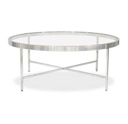 VIENNA ROUND COCKTAIL TABLE - Mitchell Gold + Bob Williams