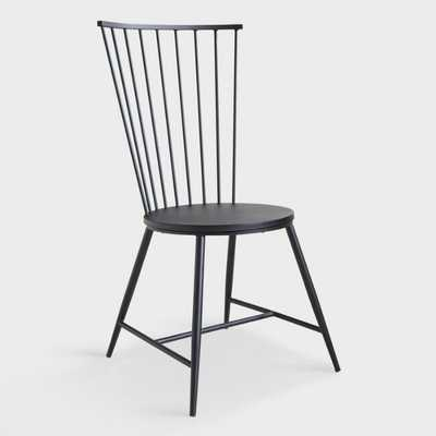 Black Steel Neal Dining Chair by World Market - World Market/Cost Plus
