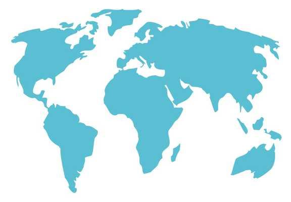 World Map Wall Decal - Wayfair