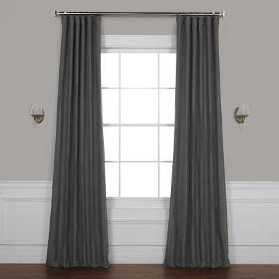 Freemansburg Room Darkening Rod Pocket Single Curtain Panel - Armour Gray - Wayfair