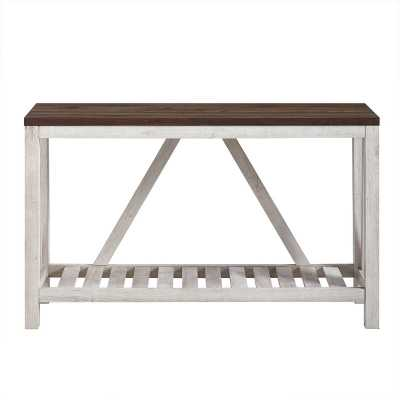 Brandy Entry Console Table - Wayfair