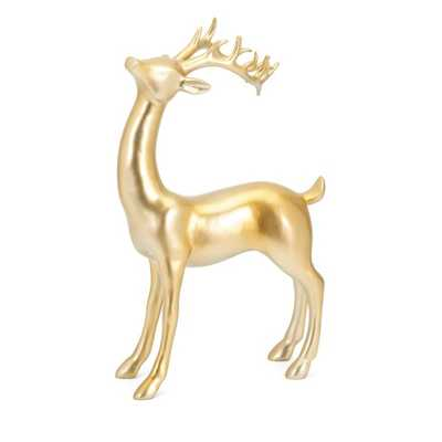 Reindeer- Gold -Right - Mercer Collection