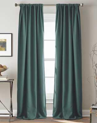 Broad Brook Solid Room Darkening Rod Pocket Single Curtain Panel - Wayfair