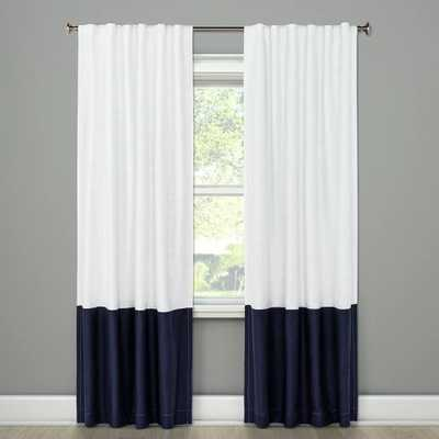 "Block Curtain Panel - 95""L - Target"