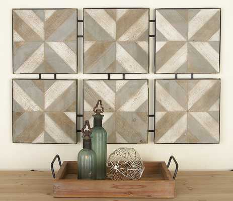 Wood and Metal Wall Décor - Cole & Grey - Wayfair