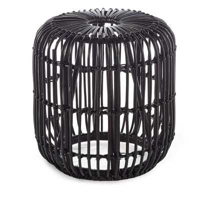 Adaline Rattan Accent Stool - Wayfair