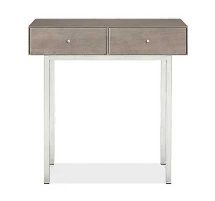 Hudson 30w 13d 29h Console Table with Steel Base - Room & Board