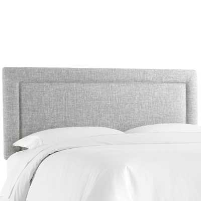 Cansler Border Upholstered Panel Headboard - queen - Wayfair