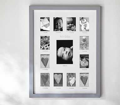 Lacquer First Year Frame - Pottery Barn Kids
