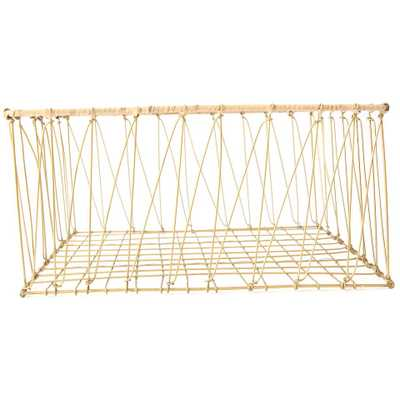 WIRE CATCHALL BASKET - LARGE - McGee & Co.