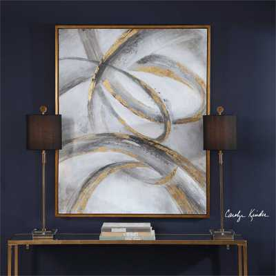 Headlights Hand Painted Canvas - Hudsonhill Foundry