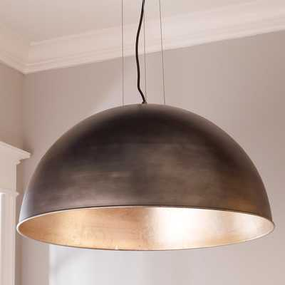 INDUSTRIAL DOME SHADE PENDANT -large - Shades of Light