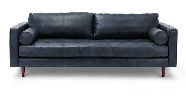 Sven Oxford Blue Sofa - Article