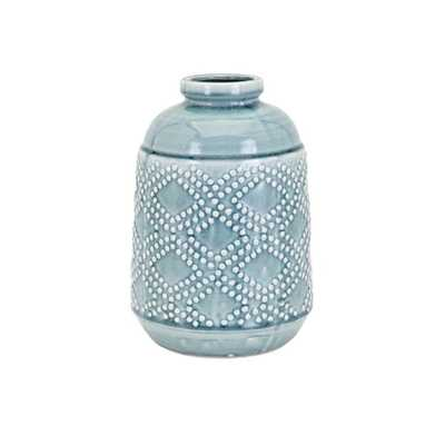 Felix Ceramic Medium Vase - Mercer Collection
