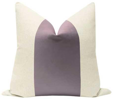 "PANEL :: Classic Velvet // Smokey Lavender - 18"" X 18"" - Little Design Company"