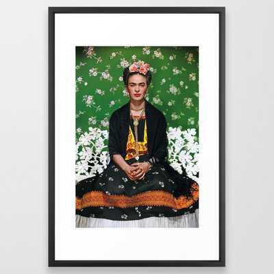 Frida Kahlo Framed Art Print - 26 x 38 - Society6