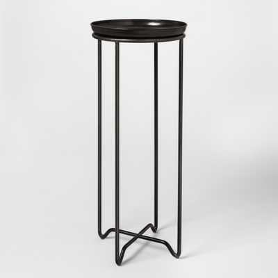 Metal Plant Stand with Galvanized Tray Tall - Smith & Hawken - Target