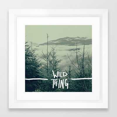 Wild Thing: Skagit Valley, Washington Framed Art Print - Society6