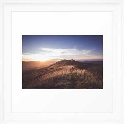 Dusk - Landscape and Nature Photography Framed Art Print by EwKaPhoto - Society6