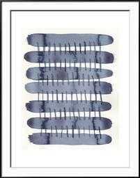 """Indigo Stitchy I, 35.5"""" x 45.5"""" - art.com"""