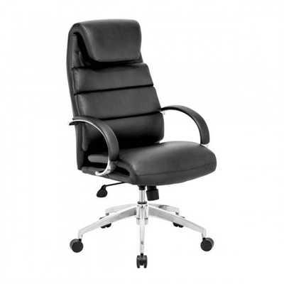 Lider Comfort Office Chair Black - Zuri Studios