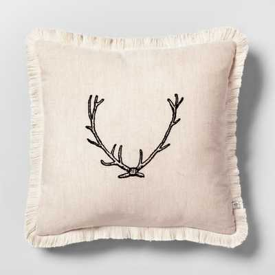 Throw Pillow - Antler - Hearth & Hand™ with Magnolia - Target
