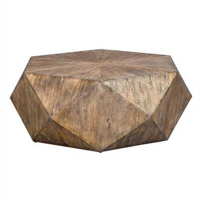 Volker Coffee Table, Honey - Hudsonhill Foundry