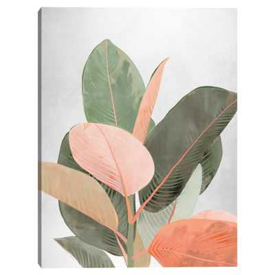 Planted Pastels Canvas Wall Art - World Market/Cost Plus