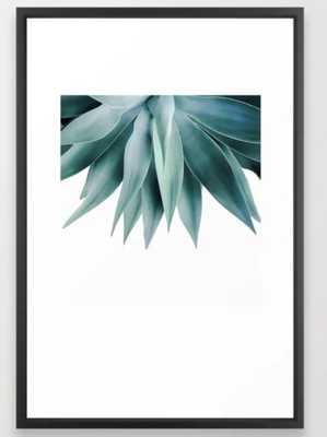 Agave fringe Framed Art Print 26 x 38 - Society6