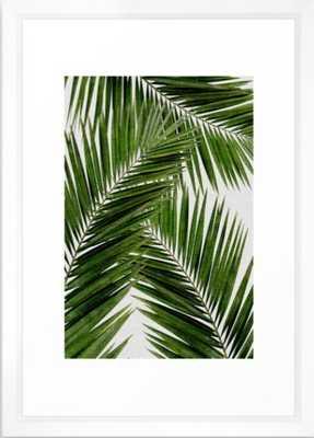 Palm Leaf III Framed Art Print - Society6