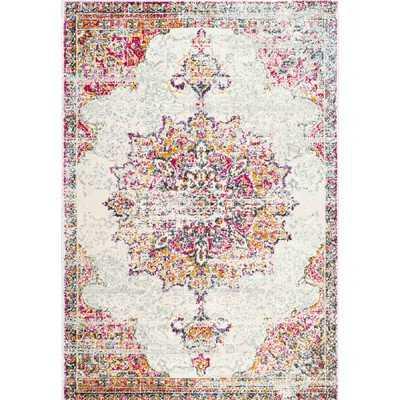 Mistana Darchelle Beige/Pink Area Rug - 8x10 - Wayfair