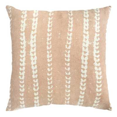 VINES PILLOW IN NUDE - PillowPia
