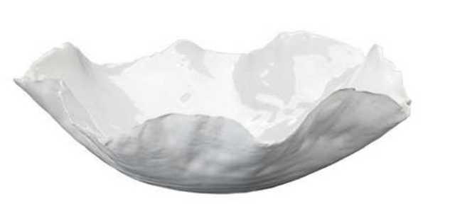 Organa White Bowl - Pine Cone Hill