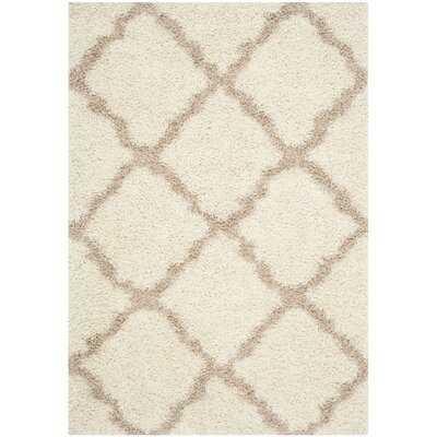 Lapidge Geometric Ivory/Beige Area Rug - Wayfair