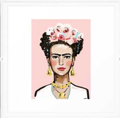 Frida Kahlo Framed Art Print - 22x22 - Society6