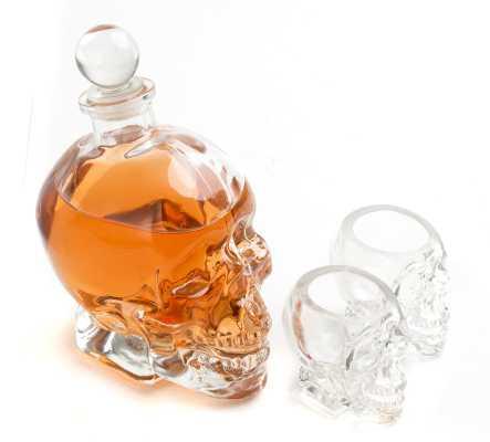 Fulbright Skull 3 Piece Beverage Serving Set - Wayfair