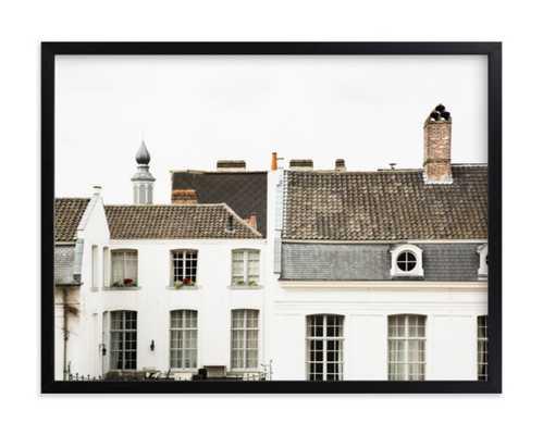 ghent, 24x18, Rich Black Wood Frame - Minted