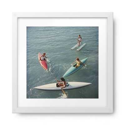 """Lake Tahoe Trip - 22"""" x 22"""" - White frame - With mat - Photos.com by Getty Images"""