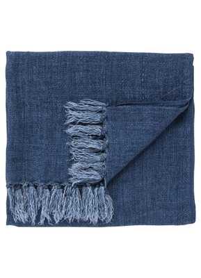Madura Throw - Mood Indigo - Collective Weavers
