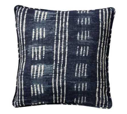 Shibori Dot Print Pillow Cover - No Insert - Pottery Barn