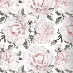 "Mcdonough Removable Large Peonies 6.25' L x 75"" W Peel and Stick Wallpaper Roll - Wayfair"