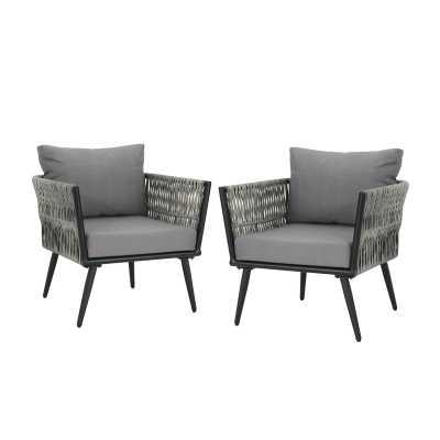 Giunta Patio Chair, Set of 2 - Wayfair